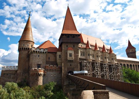 The Castle of Hunedoara (also known as Corvins' Castle), Hunedoara County, Romania 1